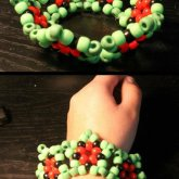 Watermelon Star Cuff