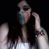 Rainbow Mask :D <3