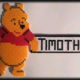 Winnie The Pooh Perler Bead~