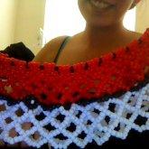 My Pokeball Kandi Skirt :)