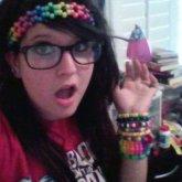 Rainbow Flower Headband :p