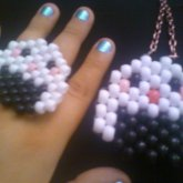 Rice Ball Ring And Necklace