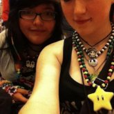 Penguinraver And I Before A Rave ^-^