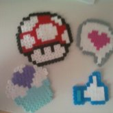 Some Perler Creations