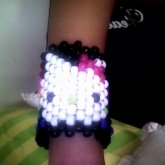 My First Cuff, Hello Kitty Ofcourse, (front Side)