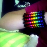 My First Cuff, Hello Kitty Ofcourse, (back Side)