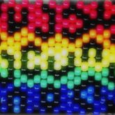 Rainbow Leopard Print Panel