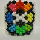 Pokemon Rainbow Badge Cuff