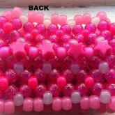 Pink Bow Cuff Back