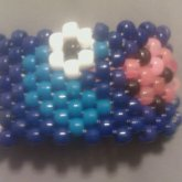 Pac Man Cookie Monster Cuff
