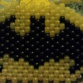 Batman Peyote Stitch