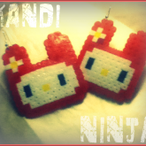 Red Bunny Things I Made