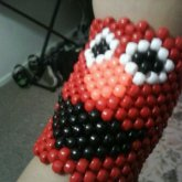 Elmo Kandi Cuff.(: