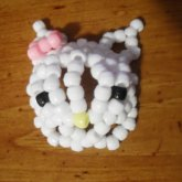 3-D Hello Kitty