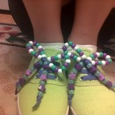 Beaded Shoe Laces..:)