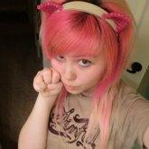 Pink Kitty Ears!! >O<
