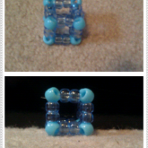 Outlined Kandi Cube