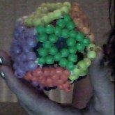 Multi Colored Star Ball