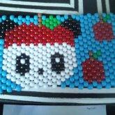 Panda / Pandapple Poster / Peyote Stitch