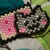 Nyan Cat Peyote Stitch, Coin Pouch