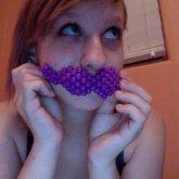 Mustache. <3