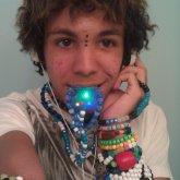 Kandi Headphones With Ears :)