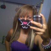 kitty mask.