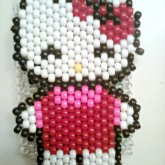 Tall Hello Kitty Pop Out Cuff