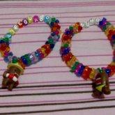 Tri Bead Single Domo Bracelets