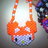 Hello Kitty Deadmau5 Necklace