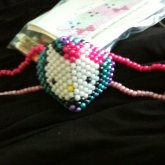 Mask With Large Hello Kitty Face