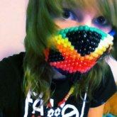 X Rainbow Mask On Me :D
