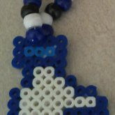 Facebook Like/Dislike Kandi Necklace