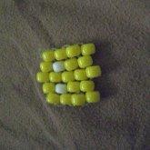 Yellow Pac Man Ghost