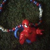 Spiderman Necklace.