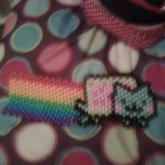 Nyan Cat With Rainbow!!