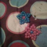 Kandi Star Earrings