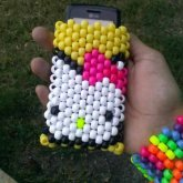 Hello Kitty Cellphone Holder (front)