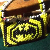 Batman Purse Side 1-Batman Logo.