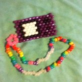 Purple Gameboy Necklace