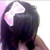 Glow In The Dark Hello Kitty Bow.