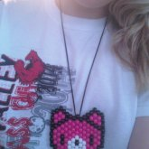 Gloomy Bear Peyote Necklace