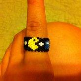 Pac Man Mini Multi Cuff Ring