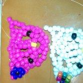 3D Hello Kittys C: