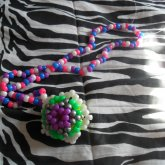 3D Star Necklace Side 2