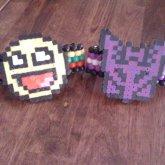 Smiley And Decepticon Odd Base Cuff