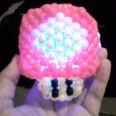 3d Mushroom W/light