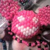 Pink 3d Deadmau5