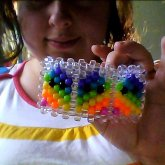Rainbow Pacman Ghosties