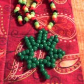 Pot Leaf Necklace